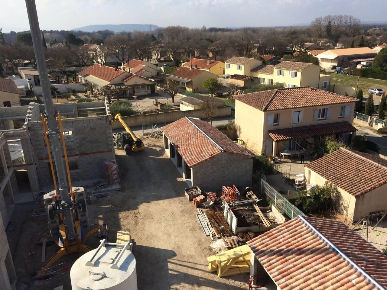 residence barattes en construction